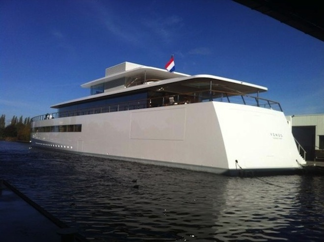 Steve Jobs' Gorgeous, High-Tech Yacht Debuts