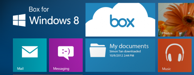 Box for Windows 8