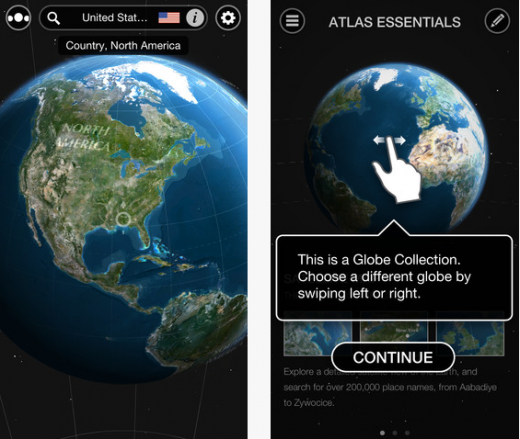 a2 520x439 TNW Pick of the Day: Atlas by Collins is a beautiful and immersive way to explore Earth