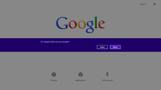 a3 520x292 Google Search app launches for Windows 8, and its a gateway to all other Google apps