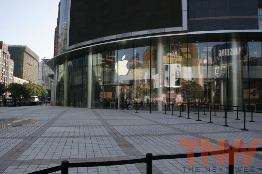 applestore wangfujing 3wtmk 520x346 Apples Browett guides tour of new Beijing store, confirms upcoming Shenzhen location