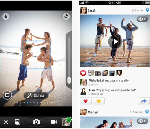 b1 520x448 Tracks launches version 2.0 of its social photo app with new content surfacing features, hits Android too