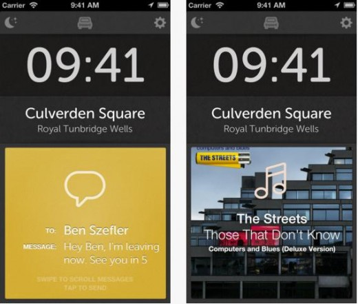 b11 520x441 TNW Pick of the Day: Drive for iPhone gives you quick access to calls, texts, music and maps on the road