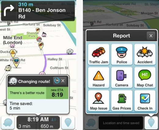 b12 520x425 Waze wheels out major updates, and now lets you see friends' ETAs and send pick up requests