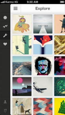 b8 220x391 Kuvva goes mobile, bringing curated wallpaper art to your iPhone