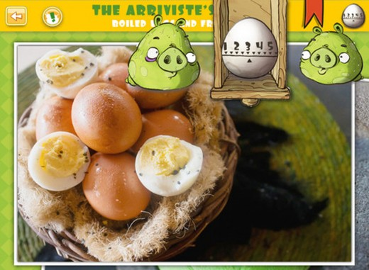 bad piggies 3 520x381 Green ham and eggs: Rovios Bad Piggies cook up an iPad recipe book app