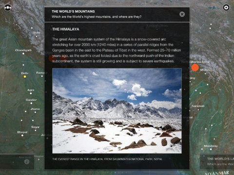 c9 TNW Pick of the Day: Atlas by Collins is a beautiful and immersive way to explore Earth