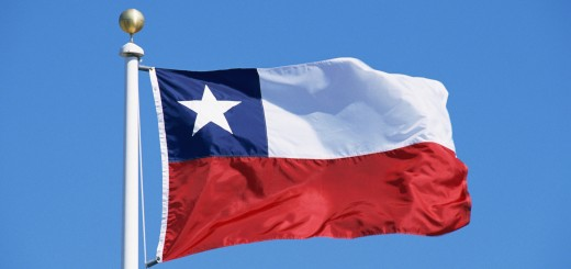 Chilean flag via stockbyte