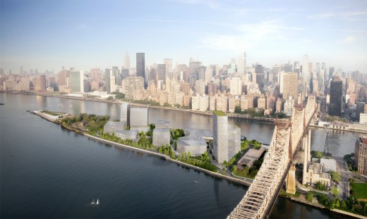 cornell aerial credit kilograph 520x311 NYs Cornell Tech campus enters land use review process to open in 2017, teases sexy renderings