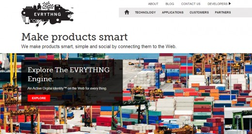 evrything screen 520x277 EVRYTHNG launches to connect physical products with the web for smart marketing