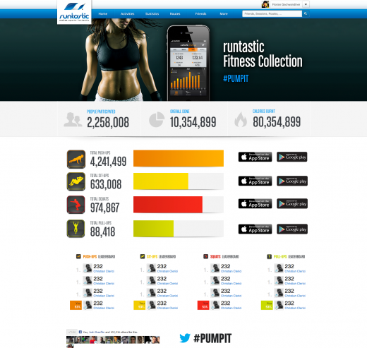 fitnesscollection web 520x493 Runtastic sprints past 14m downloads, and launches four new fitness apps for homebodies