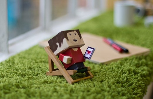 foldable martin 520x339 Foldable.me launches to make cute, cardboard versions of you and your friends