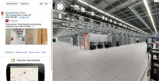 google data center screenshot 520x268 Googles data center guarded by stormtroopers, warns these arent the droids youre looking for