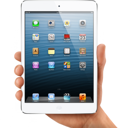 hero 520x508 iPad Mini: 16GB $329, 32GB $429, 64GB $529 pre orders begin Oct 26th, WiFi models ship November 2nd