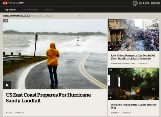 linktv app top stories 520x377 LinkTV World News for the iPad wants to reinvent global news for the YouTube era