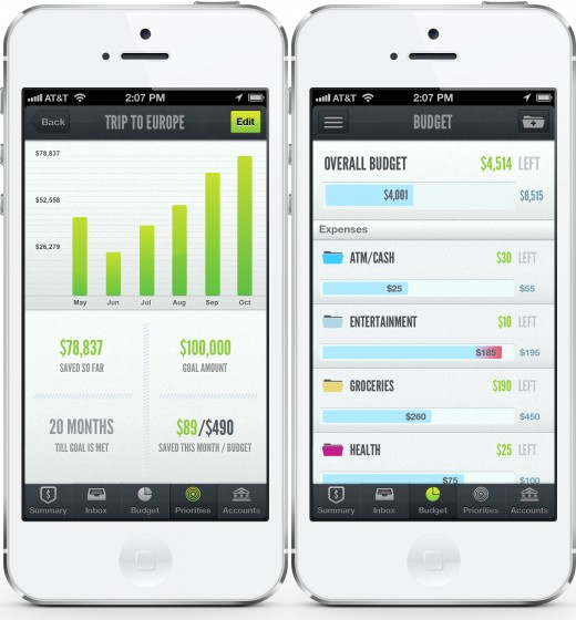 lv2 520x560 LearnVest launches its highly polished money management app on the iPhone