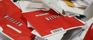 FILE:  Netflix To Spin Off DVD Mail Service