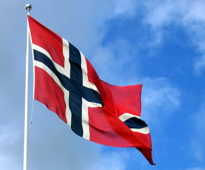 norway flag Music in the midnight sun: Behind Norways edge in online music