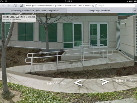 photo2 520x390 Google Street View now live in the Google Maps iOS Web app