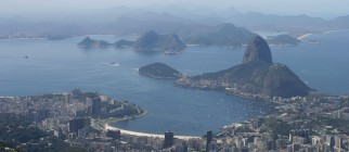 rio de janeiro aerial view via pond5