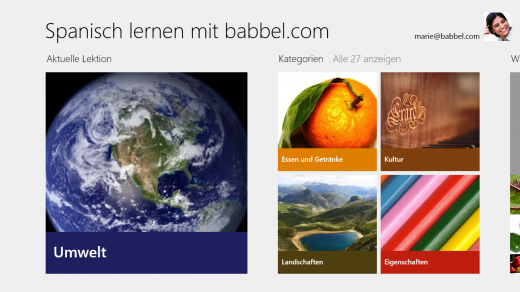 screenshot 09032012 140526 520x292 Babbel takes its language learning platform to Windows 8 with 11 new apps