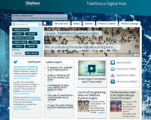 telefonica digital screen1 520x416 Telefonica Digital partners with GfK to launch big data analysis service for business and local authorities