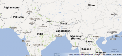 tlc blog asia 01 520x239 All in the detail: Google Maps gets clearer depictions of terrain and the natural landscape