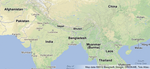 tlc blog asia 02 520x239 All in the detail: Google Maps gets clearer depictions of terrain and the natural landscape