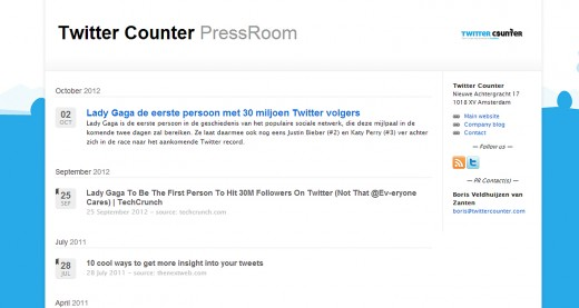 twitter counter press room 520x277 PressDoc Embargo launches to make life easier for journalists and PRs alike