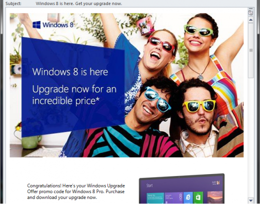 windows 8 loophole 6 520x409 Microsoft site loophole lets anyone buy Windows 8 Pro for just $15