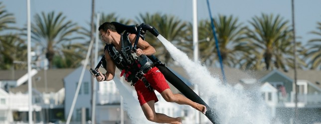 Jetpack Pilot Demonstrates Jet Device To Be Used For Record 26-Mile Attempt