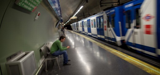 Transport In Madrid Ahead Of General Strike