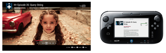 3k06J The YouTube app for Nintendos Wii U is now live