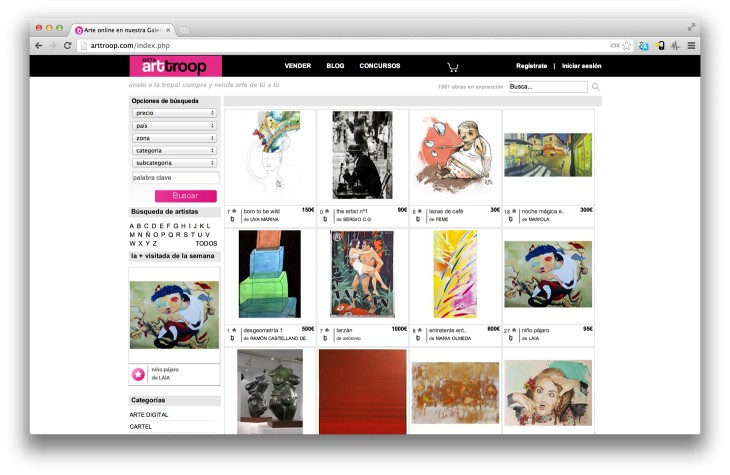 ArtTroop1 730x475 Spains ArtTroop raises $415k to build out its P2P art marketplace