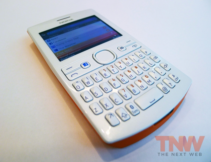Asha2wtmk Nokia unveils the 206, Asha 205 and new Slam content sharing service aimed at emerging markets