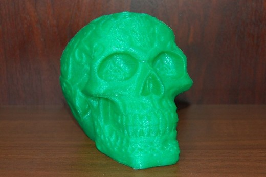 Celtic Skull peter ormond 520x346 The Rise of 3D Printing