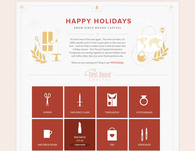 Cyber Monday Homepage 2 TaskRabbit, One Kings Lane, Fab, and others team up to create a Cyber Monday holiday marketplace