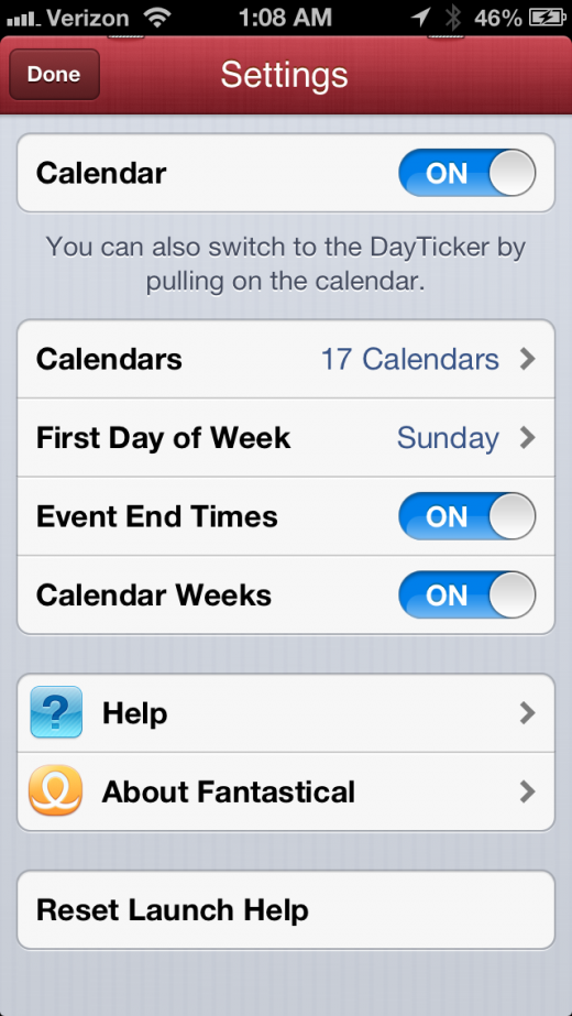 IMG 0537 520x923 The gorgeous Fantastical for iPhone re invents the calendar as a timeline of events