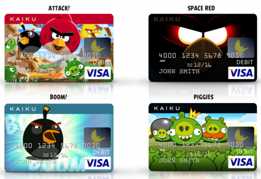 KAIKU Angry Birds Visa Prepaid Card 100246 520x358 Rovio teams up with Kaiku to launch prepaid Angry Birds debit card in the US; coming early 2013