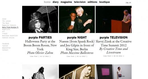 Purple screen a 520x277 Fashion publications are finding better ways for print digital hybrid media to survive