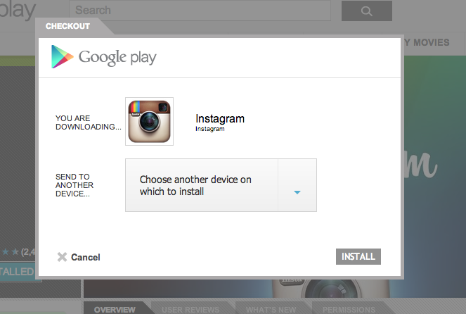 Screen Shot 2012 11 14 at 11.24.35 Google now allowing Google+ users to install Android apps directly from the stream