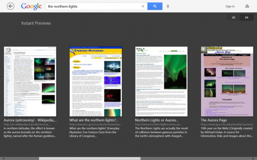 Screenshot 49 520x325 Google launches Search app for Windows RT, giving Microsoft Surface users an alternative to Bing
