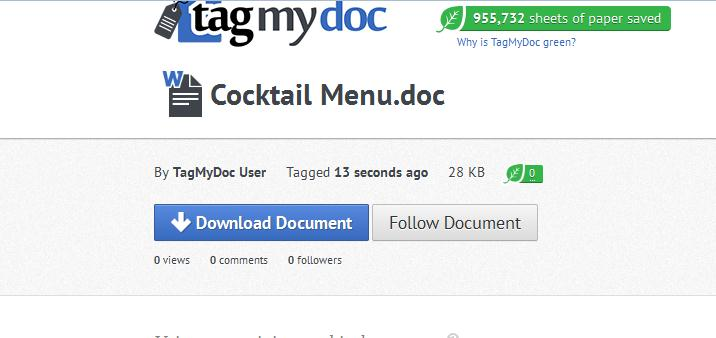 Screenshot 28 TagMyDoc takes QR codes and makes them useful with this document tagging and sharing Web app