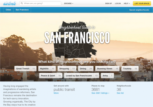 Snap 2012 11 13 at 10.46.51 520x362 Airbnb launches Neighborhood recommendations and Local Lounges to help perfect your trip