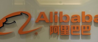 The logo of online shopping portal Aliba