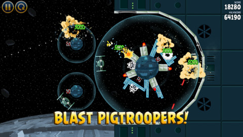 May the birds be with you: Angry Birds Star Wars is here