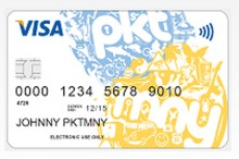 card1 220x146 PKTMNY launches out of beta to offer kids pre paid debit cards and ways to manage their cash