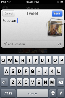 e5 220x330 Two sided snaps: DuoCam for iOS takes front and rear facing camera shots simultaneously