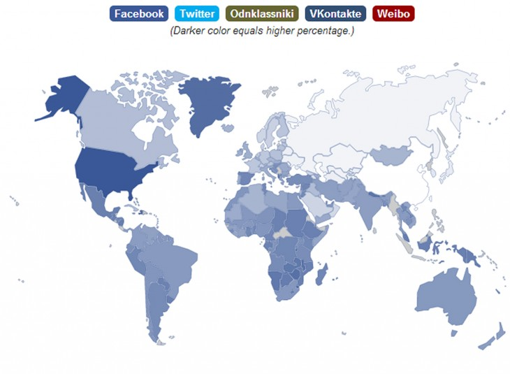 facebook opera map 730x535 Operas State of the Mobile Web report shows Facebooks still stomping the competition