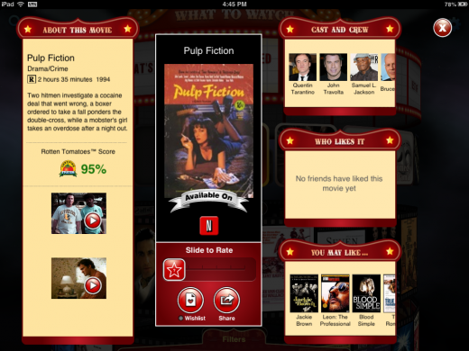fayve screenshot 3 520x390 The new Fayve iPad app lets you sort movies like Microsoft co founder Paul Allen